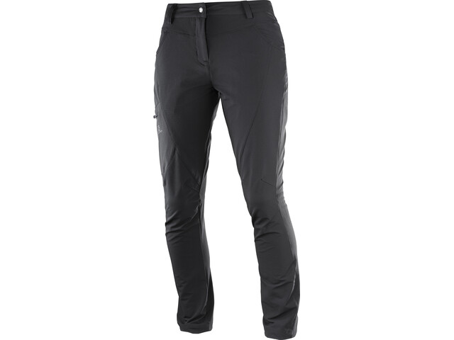 Salomon Wayfarer Utility Pantalones Mujer, black